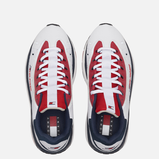Мужские кроссовки Tommy Jeans 8.0 Heritage Runner Red/White/Blue