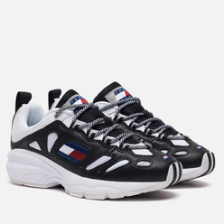 Мужские кроссовки Tommy Jeans Heritage Retro Cutout Detail Trainers Black