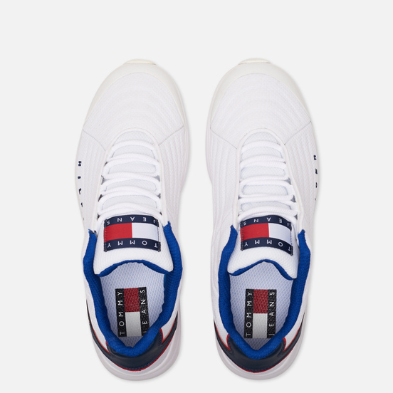 Мужские кроссовки Tommy Jeans Heritage Trainers White