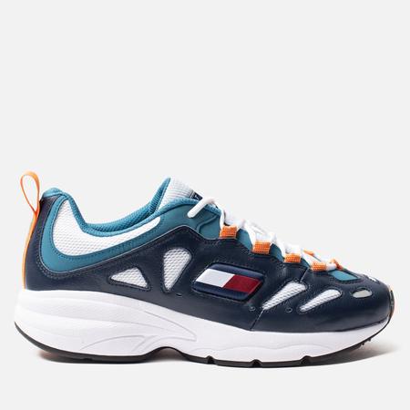 Мужские кроссовки Tommy Jeans Retro Trainers Ink/White/Saxony Blue/Russet Orange