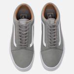 Мужские кеды Vans Old Skool Premium Leather Wild Dove/True White фото- 4