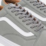 Мужские кеды Vans Old Skool Premium Leather Wild Dove/True White фото- 5