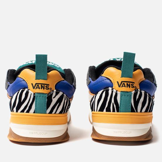 Мужские кроссовки Vans Zebra Brux WC Tidepool/Marigold