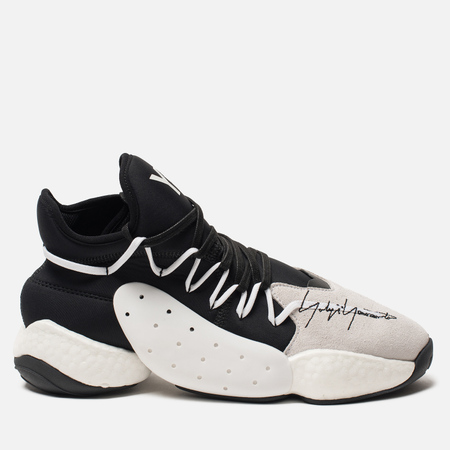 Мужские кроссовки Y-3 BYW Bball Core Black/Lush Red/Core White