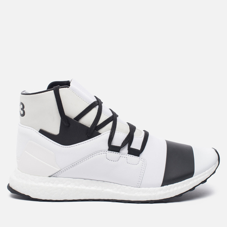 Мужские кроссовки Y-3 Kozoko High White/Crystal White/White