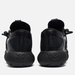 Мужские кроссовки Y-3 Kyujo Low Black фото- 5