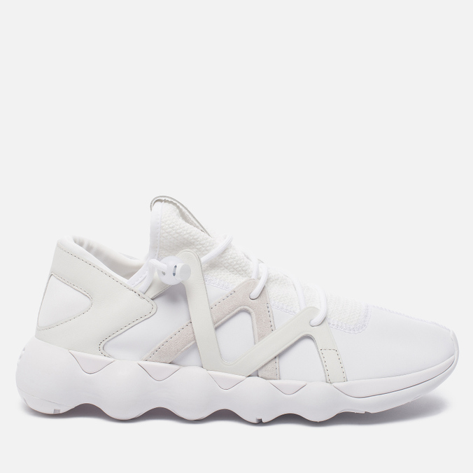 Мужские кроссовки Y-3 Kyujo Low White/Crystal White/Crystal White