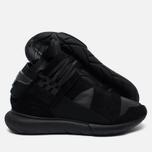 Мужские кроссовки Y-3 Qasa High Black фото- 1