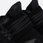 Мужские кроссовки Y-3 Qasa High Black фото- 3