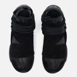 Мужские кроссовки Y-3 Qasa High Black фото- 4