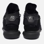 Мужские кроссовки Y-3 Qasa High Black фото- 5