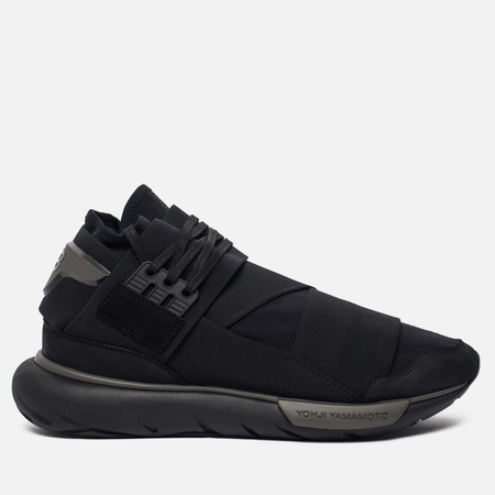 Мужские кроссовки Y-3 Qasa High Core Black/Core Black/Core Black