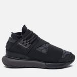 Мужские кроссовки Y-3 Qasa High Core Black/Utility Black/Core Black фото- 0