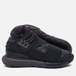Мужские кроссовки Y-3 Qasa High Core Black/Utility Black/Core Black фото- 2
