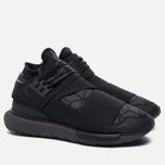 Мужские кроссовки Y-3 Qasa High Core Black/Utility Black/Core Black фото- 1