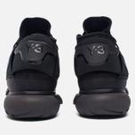 Мужские кроссовки Y-3 Qasa High Core Black/Utility Black/Core Black фото- 4