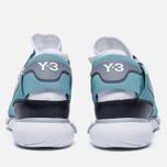 Мужские кроссовки Y-3 Qasa High Crystal White/Vapour Steel/Core Black фото- 3