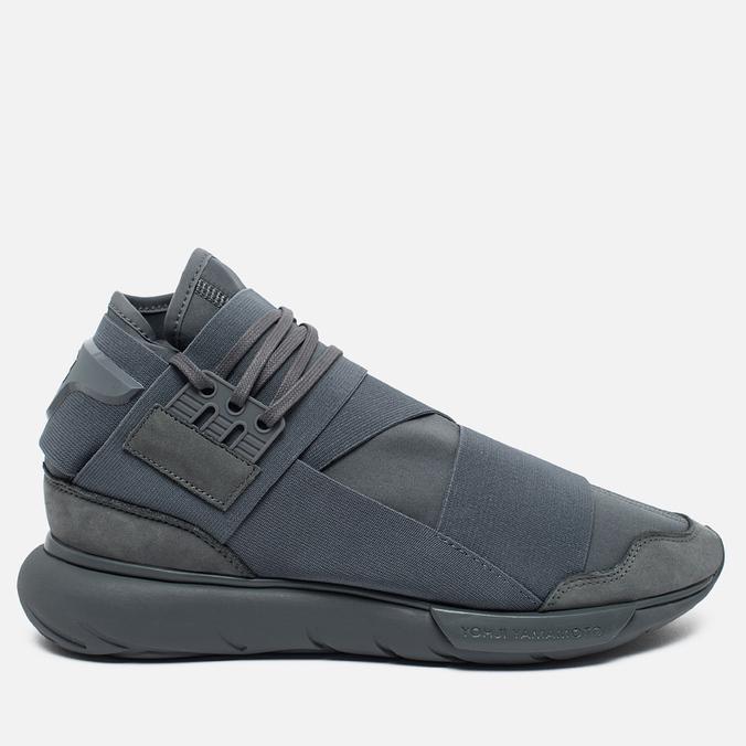 Мужские кроссовки Y-3 Qasa High Grey