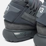 Мужские кроссовки Y-3 Qasa High Grey фото- 4