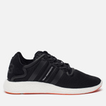 Мужские кроссовки Y-3 Yohji Run Core Black/Core Black/White фото- 0