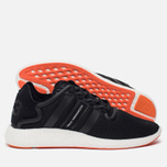 Мужские кроссовки Y-3 Yohji Run Core Black/Core Black/White фото- 2