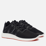 Мужские кроссовки Y-3 Yohji Run Core Black/Core Black/White фото- 1