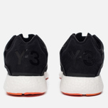 Мужские кроссовки Y-3 Yohji Run Core Black/Core Black/White фото- 3