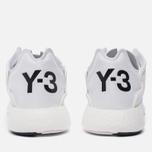 Кроссовки Y-3 Yohji Run White/Crystal White/Core Black фото- 4