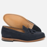 Loake Lincoln Suede Men's Loafer Navy photo- 2