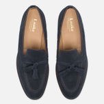 Loake Lincoln Suede Men's Loafer Navy photo- 4