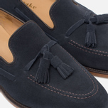 Loake Lincoln Suede Men's Loafer Navy photo- 5