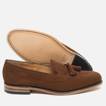 Loake Lincoln Suede Men's Loafer Polo Brown photo- 2