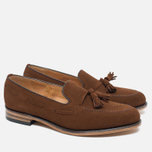 Loake Lincoln Suede Men's Loafer Polo Brown photo- 1
