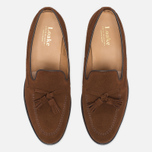 Loake Lincoln Suede Men's Loafer Polo Brown photo- 4