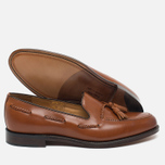 Мужские ботинки лоферы Loake Temple Calf Brown фото- 2