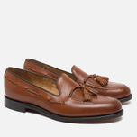Loake Temple Men's Loafer Calf Brown photo- 1