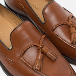 Loake Temple Men's Loafer Calf Brown photo- 5