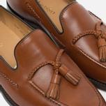 Мужские ботинки лоферы Loake Temple Calf Brown фото- 5