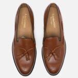 Loake Temple Men's Loafer Calf Brown photo- 4