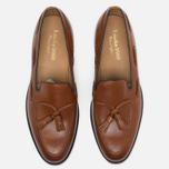 Мужские ботинки лоферы Loake Temple Calf Brown фото- 4