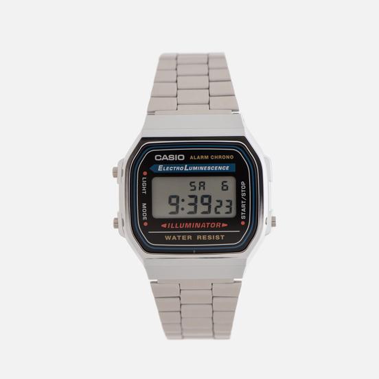 Наручные часы CASIO Collection A-168WA-1 Silver
