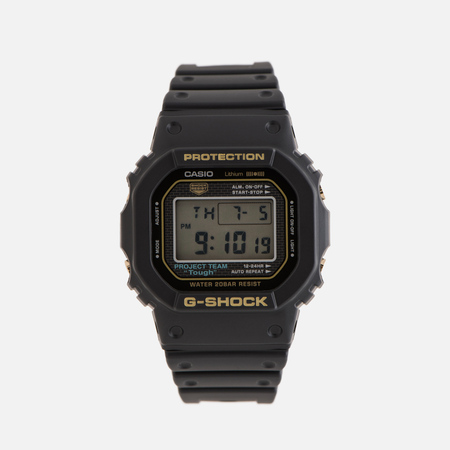 Мужские наручные часы CASIO G-SHOCK DW-5035D-1B 35th Anniversary Black/Gold