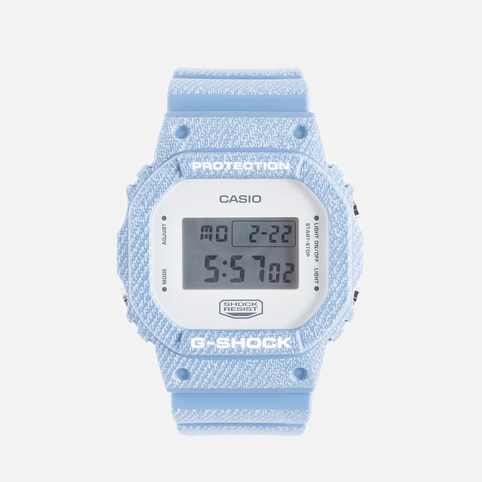 Наручные часы CASIO G-SHOCK DW-5600DC-2ER Denim Series Blue