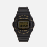 Наручные часы CASIO G-SHOCK DW-5735D-1B 35th Anniversary Black/Gold фото- 0