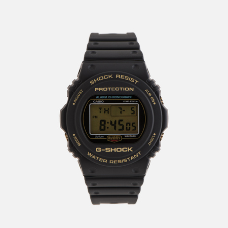 Мужские наручные часы CASIO G-SHOCK DW-5735D-1B 35th Anniversary Black/Gold