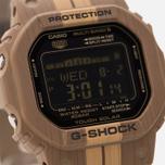 Мужские наручные часы CASIO G-SHOCK G-LIDE GWX-5600WB-5E Surf Style Pack Brown Wood фото- 2