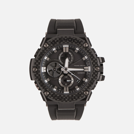 Мужские наручные часы CASIO G-SHOCK G-STEEL GST-B100X-1A Black