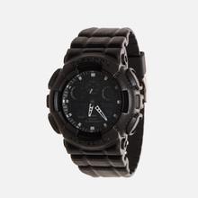 Наручные часы CASIO G-SHOCK GA-100BT-1A Black Leather Texture Series Black фото- 1