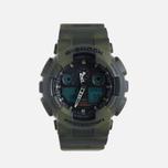 Мужские наручные часы CASIO G-SHOCK GA-100MM-3A Camo фото- 0