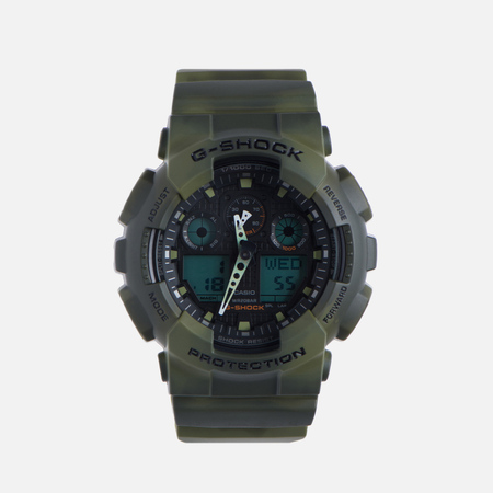 Мужские наручные часы CASIO G-SHOCK GA-100MM-3A Camo